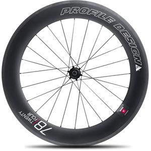 78 Twenty Four Full Carbon Clincher Wheel - Rear