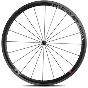 38 Twenty Four Full Carbon Clincher Wheel - Front