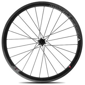 38 Twenty Four Full Carbon Clincher Wheel - Rear