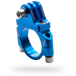 Camera mount, handlebar, 31.8 mm, blue