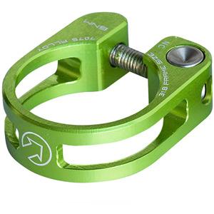 Performance seatpost clamp, 34.9, green