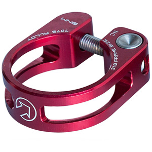 Performance seatpost clamp, 31.8, red