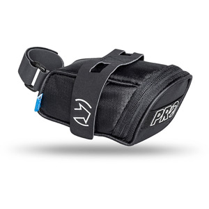 Mini Pro saddlebag with Velcro-style hook-and-loop strap