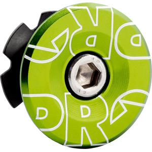 Gap cap alloy, green anodized, 1 1/8