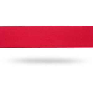 Sport comfort bar tape with bar end plugs and fixing tape, red