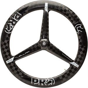 Carbon Textreme 3-spoke wheel - front - tubular