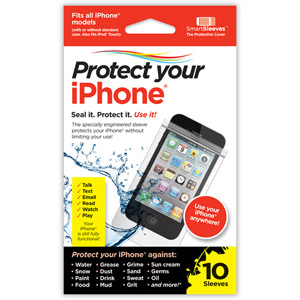Protect Your iPhone Smart Sleeve - retail pack