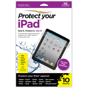 Protect Your iPad® - Pack of 10