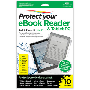 Protect Your eBook Reader and Tablet PC - Pack of 10