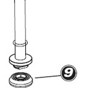 Park Tool 1075 - Plunger gasket for PFP4