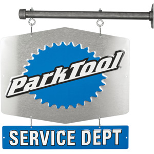 Park Tool SDS1 Serv Dept Sign Single