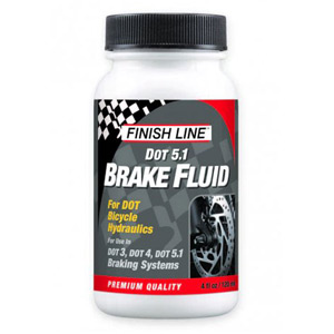 Finish Line DOT 5.1 Brake Fluid 4 oz / 120 ml