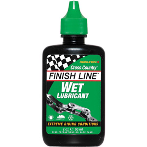 Finish Line Cross Country Wet Chain Lube 2 oz / 60 ml