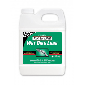 Finish Line Cross Country Wet Chain Lube 1 US gallon / 3.8 litres