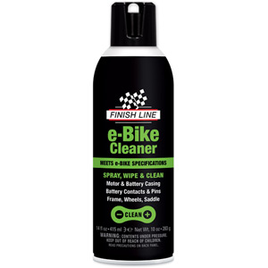 Finish Line eBike Cleaner, 14oz Aerosol DSC - Box of 6