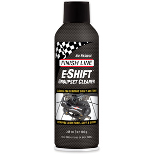 Finish Line E-Shift Groupset Cleaner, 9 oz Aerosol (315 ml)