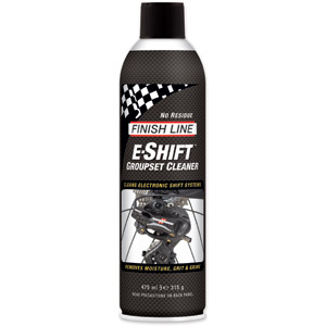 Finish Line E-Shift Groupset Cleaner, 16 oz Aerosol (550 ml)