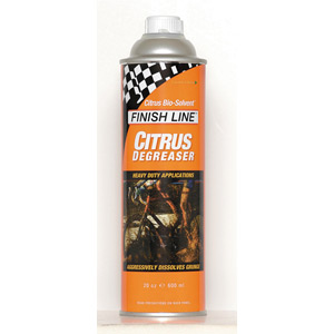 Finish Line Citrus degreaser 20 oz / 595 ml bottle
