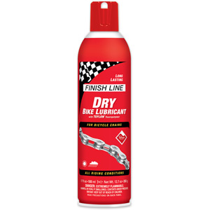 Finish Line Teflon Plus Dry Chain Lube 17 oz / 325 ml Aerosol