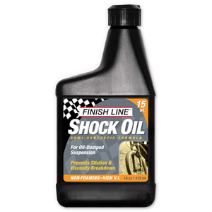 Finish Line Shock oil 15 wt 16 oz / 475 ml