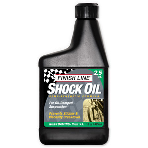 Finish Line Shock oil 2.5 wt 16 oz / 475 ml