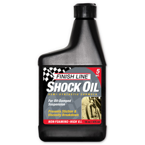 Finish Line Shock oil 5 wt 16 oz / 475 ml
