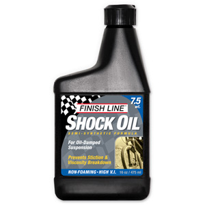 Finish Line Shock oil 7.5 wt 16 oz / 475 ml