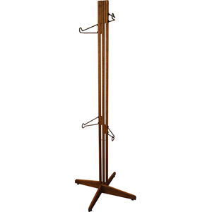 OakRak Freestanding 2 / 4-bike rack - Walnut