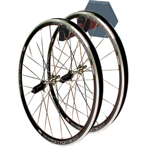 Platinum 2 wheel storage wall rack