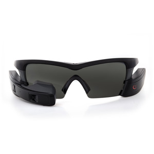 Recon Jet Black - Heads Up Display Smart Eyewear