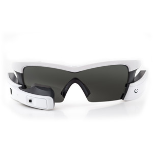 Recon Jet White - Heads Up Display Smart Eyewear