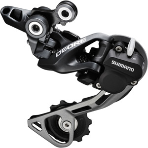 RD-M615 Deore 10-speed Shadow+ design rear derailleur, GS, black