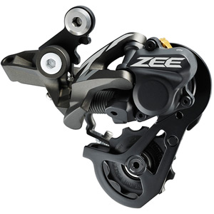 RD-M640 ZEE 10-speed Shadow+ design rear derailleur, SS 23-28T