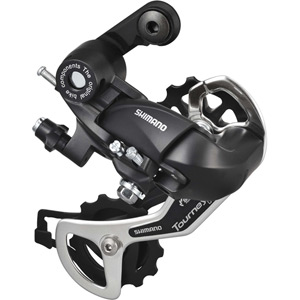 RD-TX35 6/7-speed rear derailleur with mounting bracket