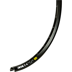 EN421 32 hole 26 inch disc rim, black anodised, UST ready