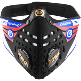 Cinqro mask black medium