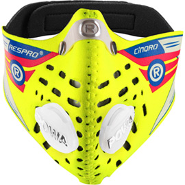 Cinqro mask flo yellow X-large