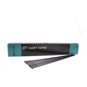 Super Comp black spokes 14 / 16 / 15 g = 2 / 1.7 / 1.8 mm box 72, 276 mm