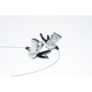 SL-R440 9-speed Rapidfire pods for flat handlebars - silver