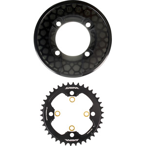 SM-CR81 Saint chainring and bash guard without fixing bolts - 38T
