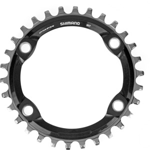 SM-CRM81 Single chainring for XT M8000, 30T