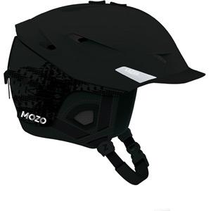 Mozo Matte Black Medium Helmet