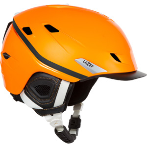 Mozo Fluoro Orange Medium Helmet
