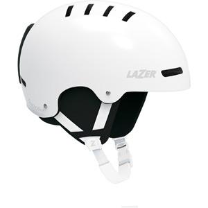 Hoodie Matte White Medium Helmet