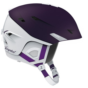 Tempted Matte Purple and Grey Small Helmet