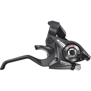 ST-EF51 Altus EZ fire plus STI 8-speed set, 2-finger lever, black