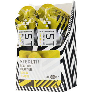 Energy gel with real fruit - Banana - 60ml - Box 14