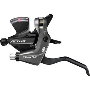ST-M370 Altus STI lever 9-speed, pair, black