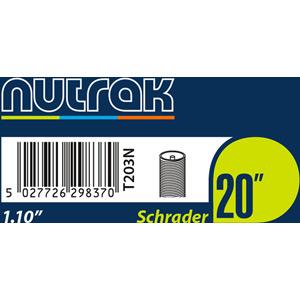 20 x 1.1 inch Schrader inner tube