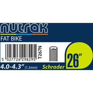 26 x 4.0 - 4.3 inch Schrader inner tube 1.3 mm butyl